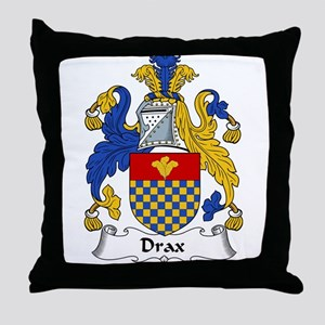 Drax Family Crest Throw Pillow